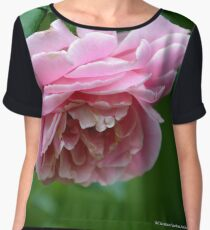 Pink Rose | Old Westbury Gardens, New York  Chiffon Top
