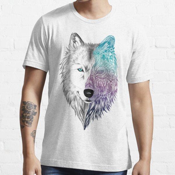 Wolf Mandala Essential T-Shirt
