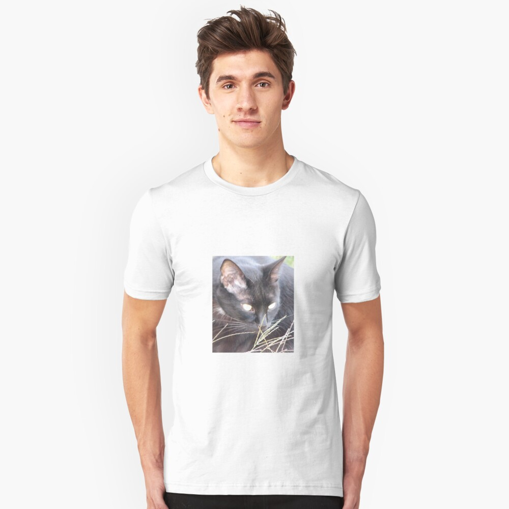 Cats eyes Unisex T-Shirt Front
