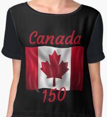Celebrate Canada's 150th Birthday Chiffon Top