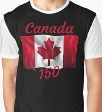 Celebrate Canada's 150th Birthday Graphic T-Shirt