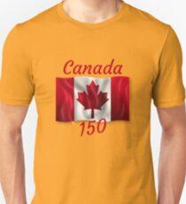 Celebrate Canada's 150th Birthday Unisex T-Shirt