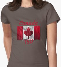 Celebrate Canada's 150th Birthday Womens Fitted T-Shirt