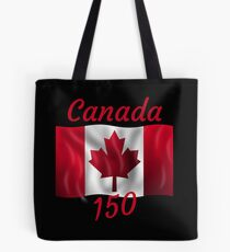 Celebrate Canada's 150th Birthday Tote Bag