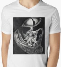 Frodo and The Ring Mens V-Neck T-Shirt