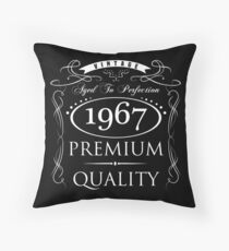 1967 Premium Quality Throw Pillow