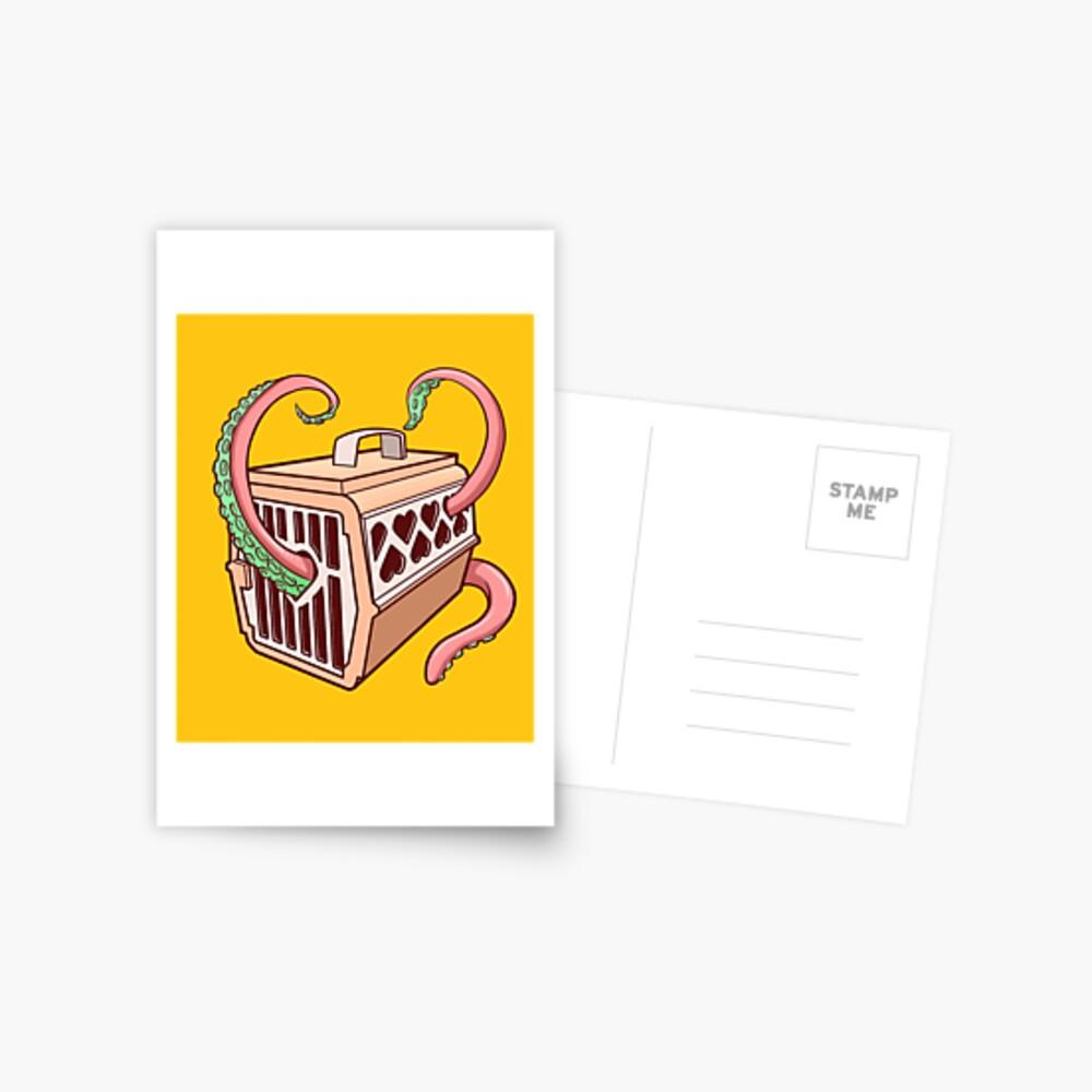 Tentacles Postcard