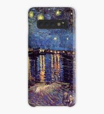 Starry Night over the Rhone, Vincent van Gogh Case/Skin for Samsung Galaxy