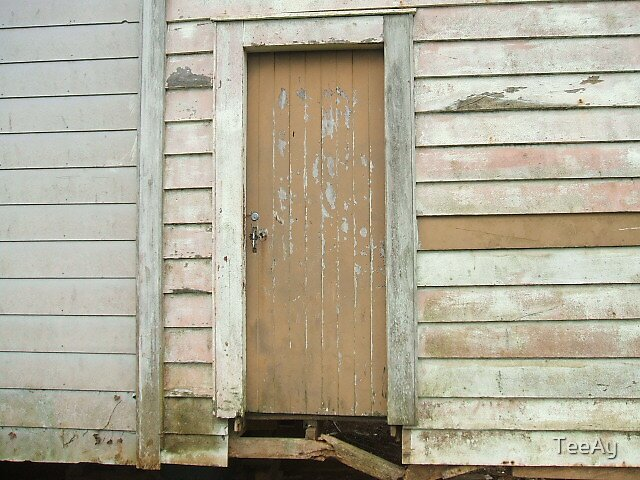 Old door by TeeAy