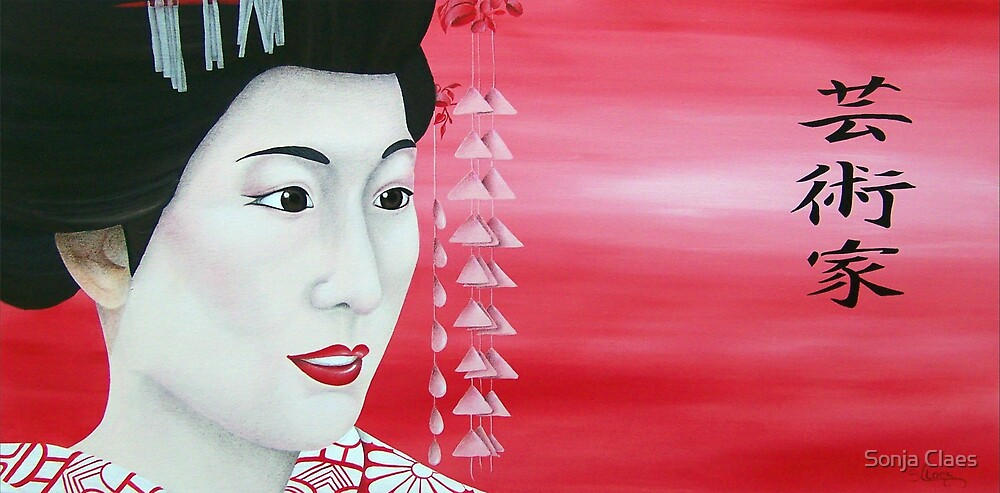 Geisha by Sonja Claes
