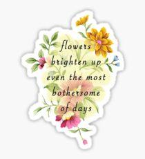 Bothersome Days Sticker