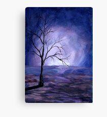 """Respite"" Tree Portrait  Canvas Print"
