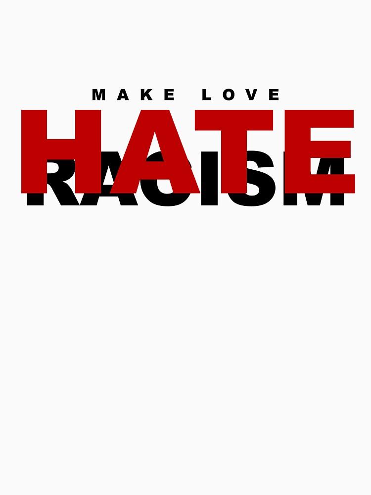 Make Love ... Hate Racism by faizan