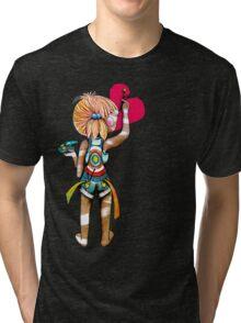 Art Chick Tri-blend T-Shirt