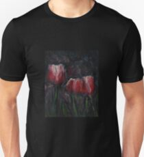 Saucy Tulips 2 Unisex T-Shirt
