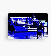 Boats on the Harbour Canvas Print
