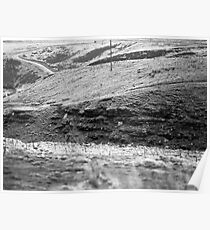 Hills on Ilford 120 film Poster
