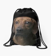 Rupert the red hound in need of a home Drawstring Bag