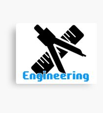 Engineering Shirt Canvas Print