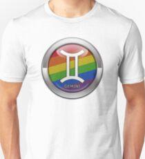 Rainbow Gemini Unisex T-Shirt