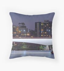 Captain Cook Bridge Throw Pillow