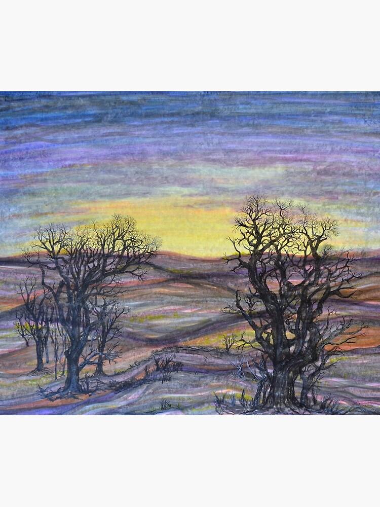 Somber Landscape by rvalluzzi