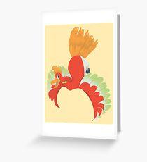 Ho-oh Greeting Card