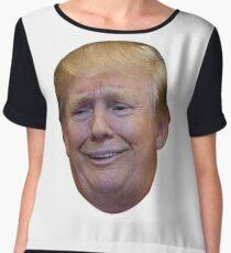 Smug Trump Chiffon Top