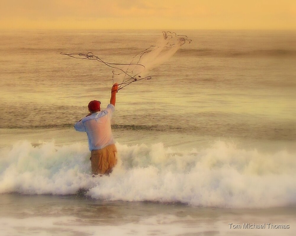 fishermans net CARD by Tom Michael Thomas