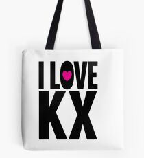 I LOVE KX Tote Bag