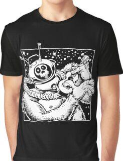 Robot Monster Says Everybody Hula Graphic T-Shirt