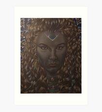 Elf Queen Art Print