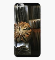 Ancient Library #1 Book Flowers iPhone Case