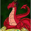 Nepenthes the Dragon by bluegorgon