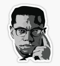 Malcom X - Civil Rights Activist Sticker