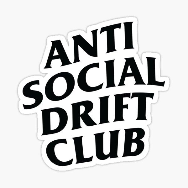 Anti Social Drift Club Sticker