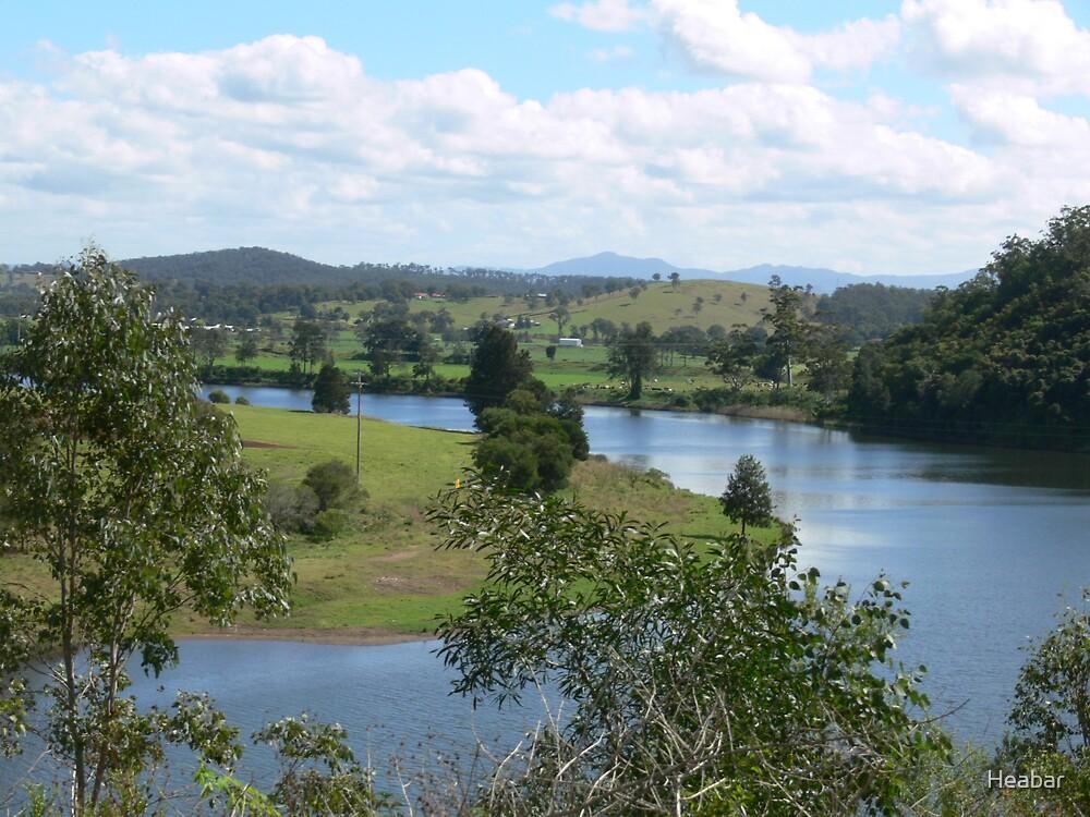 Manning River Taree N.S.W. Australia. by Heabar