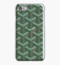 Goyard Green Beauty Pattern iPhone Case/Skin