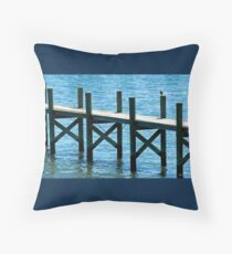 St. Johns River Throw Pillow
