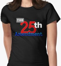 The 25th Amendment Of The US Constitution Women's Fitted T-Shirt