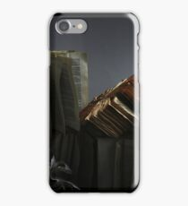 Ancient Library #2 Book Flowers iPhone Case/Skin