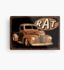 RAT Rust Truck Metal Print