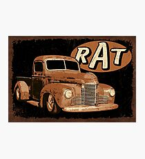 RAT Rust Truck Photographic Print