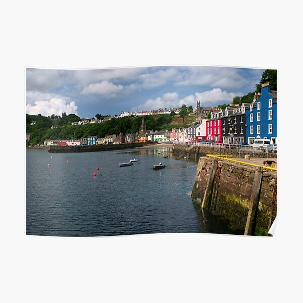 Tobermory, Isle of Mull Poster