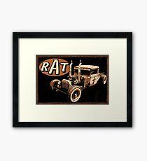 Rat Rod - Pipes Framed Print