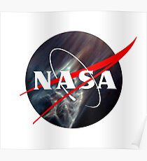 Nasa Meatball Logo - Hubble Space Edition Poster