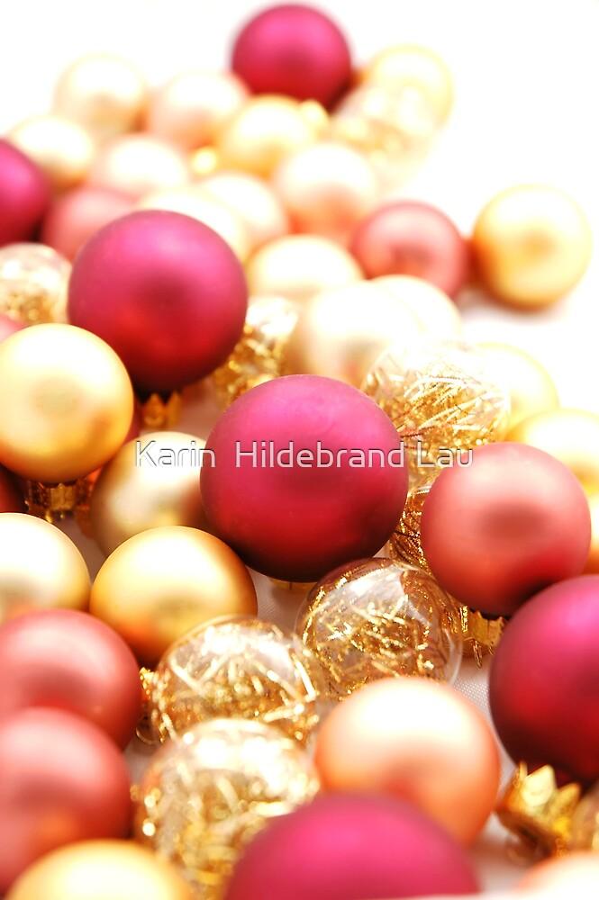 Christmas Ornaments by Karin  Hildebrand Lau