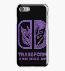 Decepticons switch iPhone Case/Skin