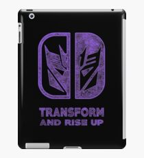 Decepticons switch iPad Case/Skin