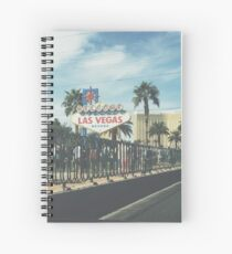 Las Vegas  Spiral Notebook